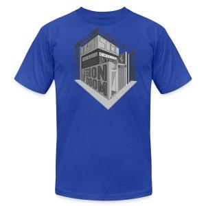 A.V. Men's Just Some Heroes Logo Design - Men's Fine Jersey T-Shirt