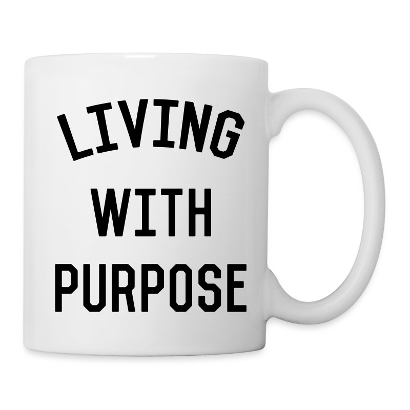 Living with Purpose - Coffee/Tea Mug
