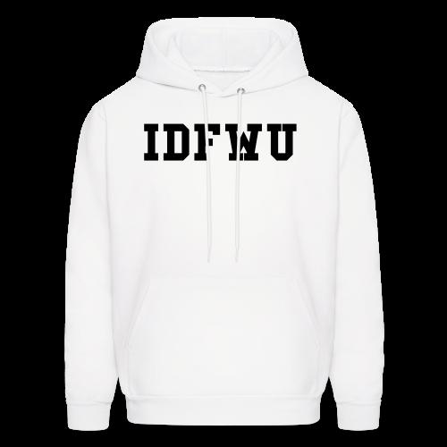 IDFWU Hoodie White - Men's Hoodie