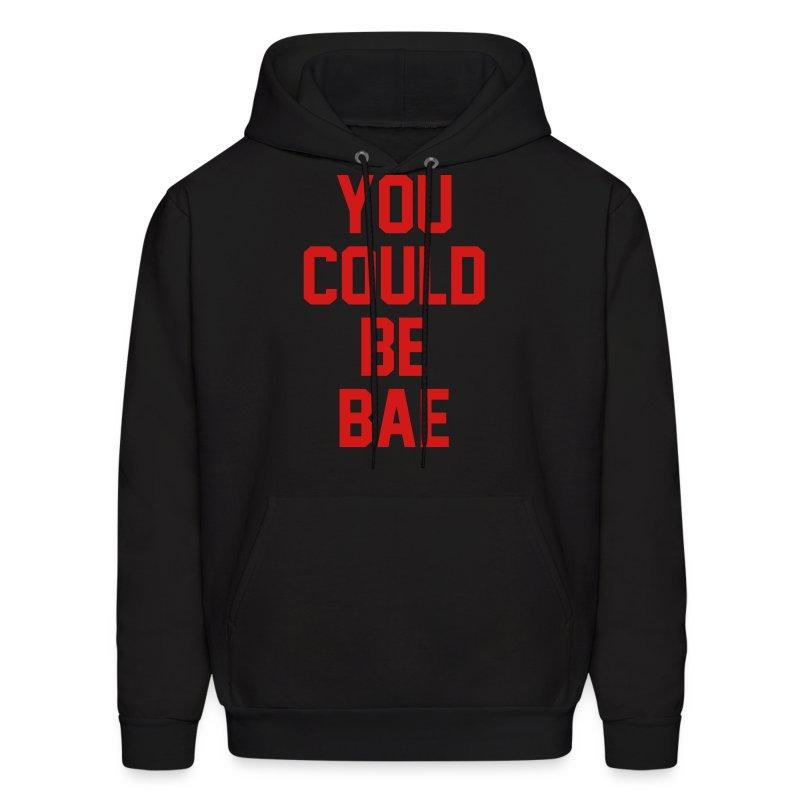 Bae Hoodie Black-Red - Men's Hoodie