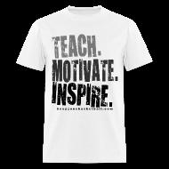T-Shirts ~ Men's T-Shirt ~ Teach  w/dark art