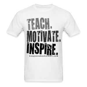 Teach  w/dark art - Men's T-Shirt