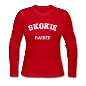 Skokie Raised - Women's Long Sleeve Jersey T-Shirt