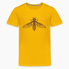 Insect Tribal Tattoo 1 Kids' Shirts
