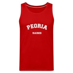 Peoria Raised - Men's Premium Tank