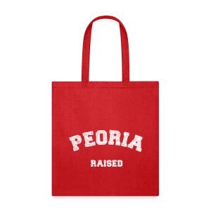 Peoria Raised - Tote Bag