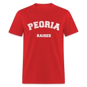 Peoria Raised - Men's T-Shirt