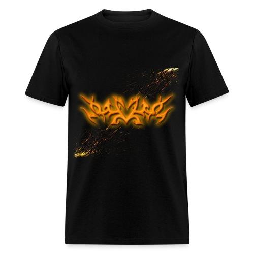 Mens Tribal Glowing Paint - Men's T-Shirt