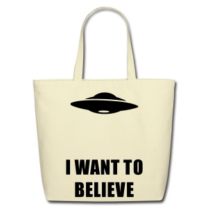 X-files tote bag - Eco-Friendly Cotton Tote