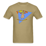 T-Shirts ~ Men's T-Shirt ~ Z-100.3 The Gerbil
