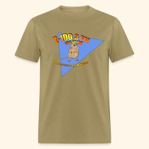 Z-100.3 The Gerbil (standard) - Men's T-Shirt