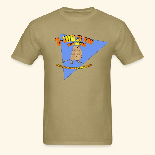 Z-100.3 The Gerbil (standard) - Men's T-Shirt