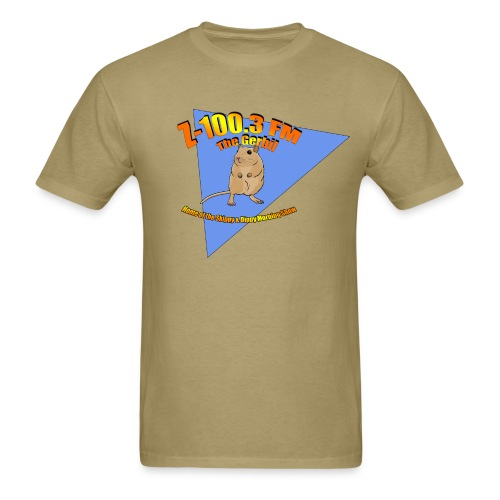Z-100.3 The Gerbil - Men's T-Shirt