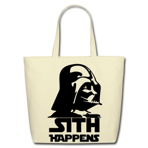 Darth Vader 'Sith Happens' tote - Eco-Friendly Cotton Tote