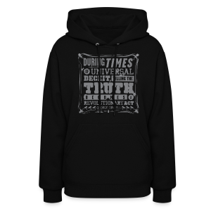 Orwell Revolutionary Act - Women's Hoodie
