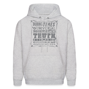 Orwell Revolutionary Act - Men's Hoodie