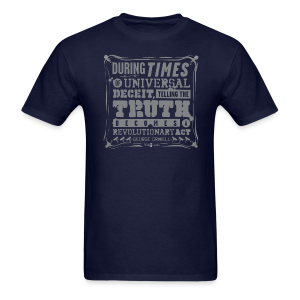 Orwell Revolutionary Act - Men's T-Shirt