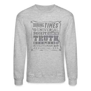 Orwell Revolutionary Act - Crewneck Sweatshirt