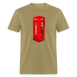 Red telephone box - Men's T-Shirt