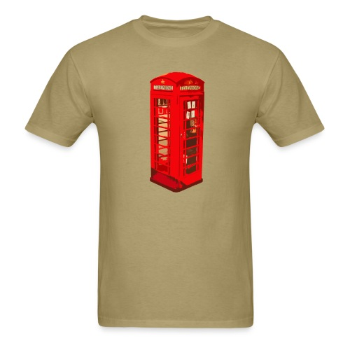 Red telephone box - Men's T-Shirt