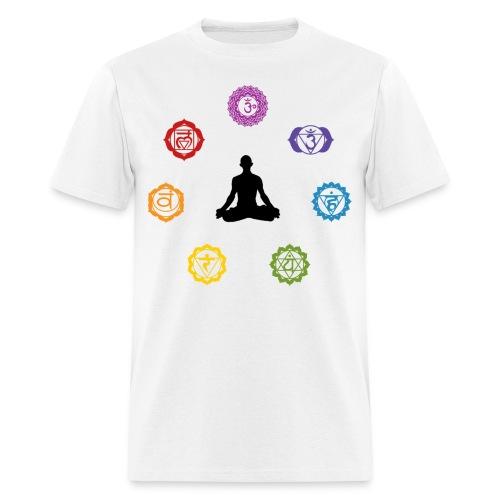 Chakra Meditation Tee - Men's T-Shirt