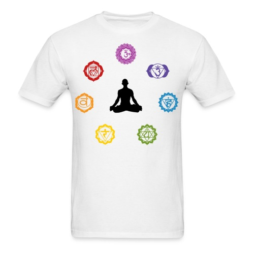 Chakra Meditation Tee - Men's T-Shirt