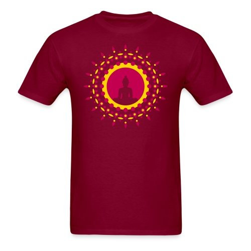 Meditation Mandala Tee - Men's T-Shirt