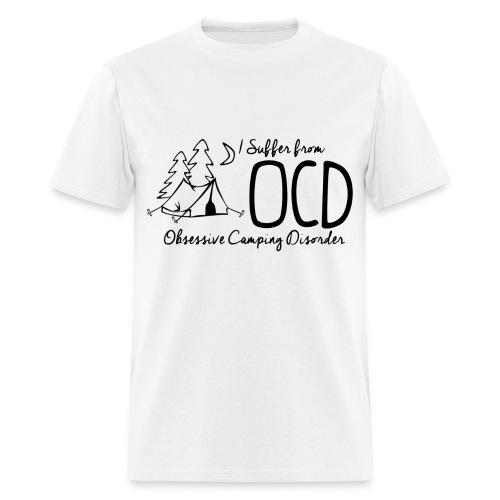 OCD - Obsessive Camping Disorder - Men's T-Shirt