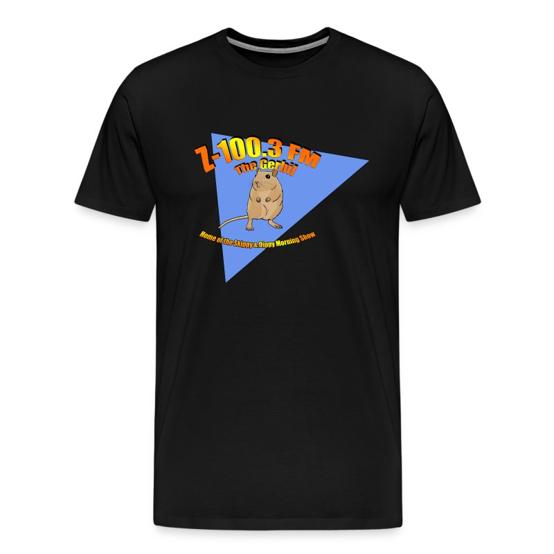 Z-100.3 The Gerbil (Premium) - Men's Premium T-Shirt