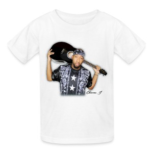 Kid CamJ White 1 - Kids' T-Shirt