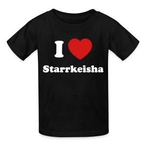 Kid I Heart Starr 1 Black - Kids' T-Shirt
