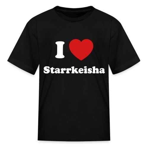Kid I Heart Starr 1 Black - Kids' T-Shirt
