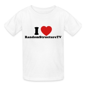 Kid I Heart RSTV 1 White - Kids' T-Shirt