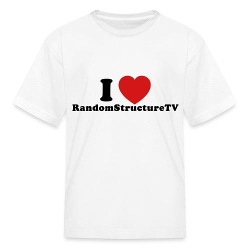 Kid I Heart RSTV 1 White - Kids' T-Shirt