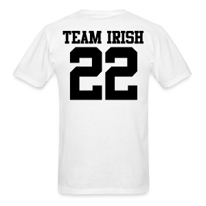 Team Irish 22 (Back) Men's T-Shirt - Men's T-Shirt