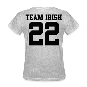 Team Irish 22 (Back) Women's T-Shirt - Women's T-Shirt
