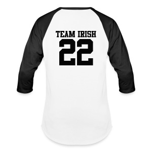 Team Irish 22 (Back) Baseball T-Shirt - Baseball T-Shirt