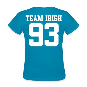 Team Irish 93 (Back) (White) Women's T-Shirt - Women's T-Shirt