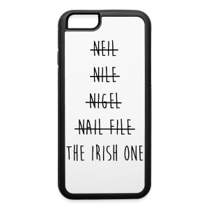 The Irish One Strikethrough iPhone 6 Rubber Case - iPhone 6/6s Rubber Case