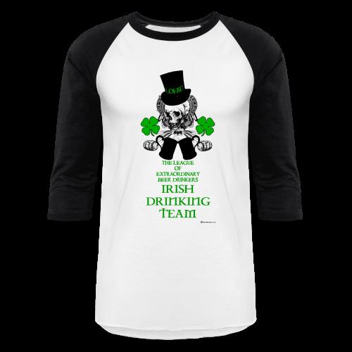 The LOEBD Irish Drinking Team Men's Baseball T-Shirt - Baseball T-Shirt