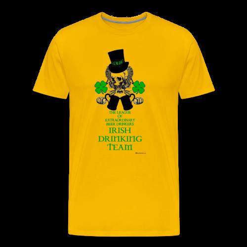 The LOEBD Irish Drinking Team Men's Premium T-Shirt - Men's Premium T-Shirt