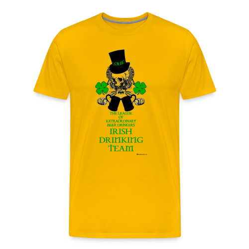 The LOEBD Irish Drinking Team Men's Premium T-Shirt - Men's Premium T-Shirt