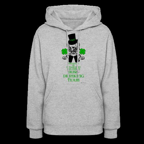 The LOEBD Irish Drinking Team Women's Hooded Sweatshirt - Women's Hoodie