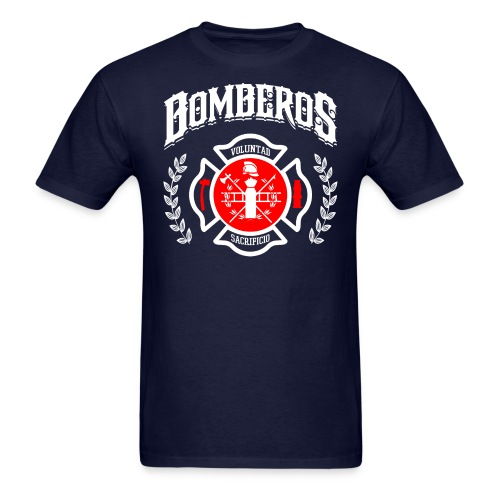 Bomberos Firefighter Shirt - Men's T-Shirt