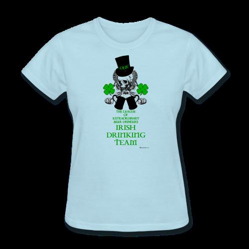 The LOEBD Irish Drinking Team Women's T-Shirt - Women's T-Shirt