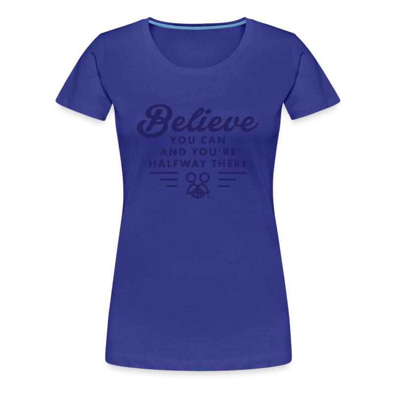 Roosevelt on Belief - Ladies - Women's Premium T-Shirt