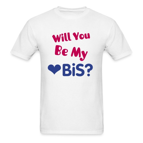 Will you be my BiS (M) - Men's T-Shirt