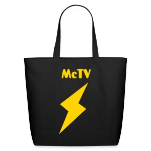 McTV Tote Bag - Eco-Friendly Cotton Tote