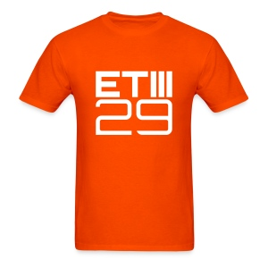 Easy Fit ETIII 29 (Orange/White) - Men's T-Shirt