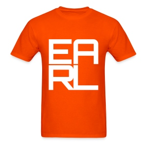 Earl Logo Easy Fit (Orange) - Men's T-Shirt